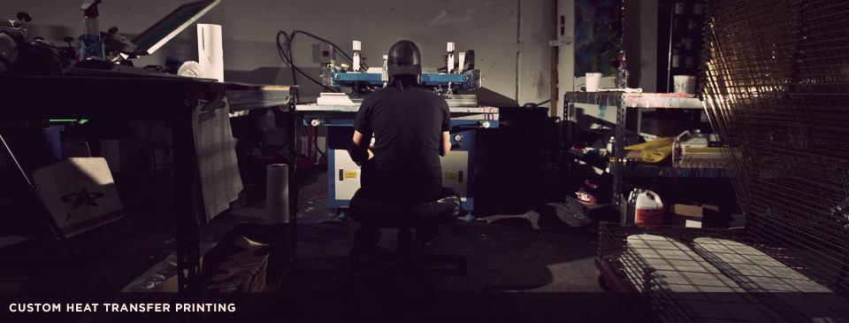 Custom Skateboard Heat Transfer Printing